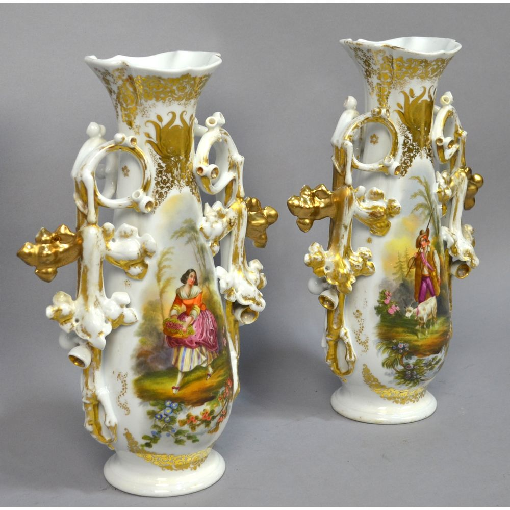 Pair antique large hand painted french country scene old vieux 8086dsc0506resultg 8086dsc0522resultg 8086dsc0540resultg reviewsmspy